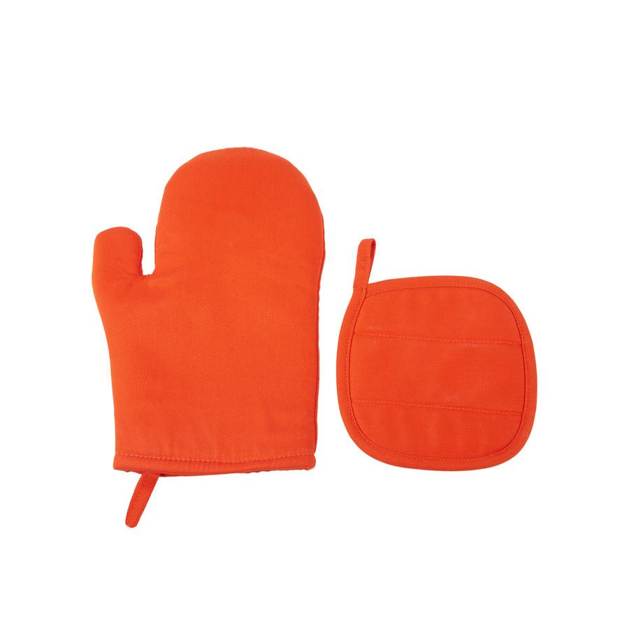 Karaca Home Pinny Orange 4 Parça Mutfak Önlük Seti
