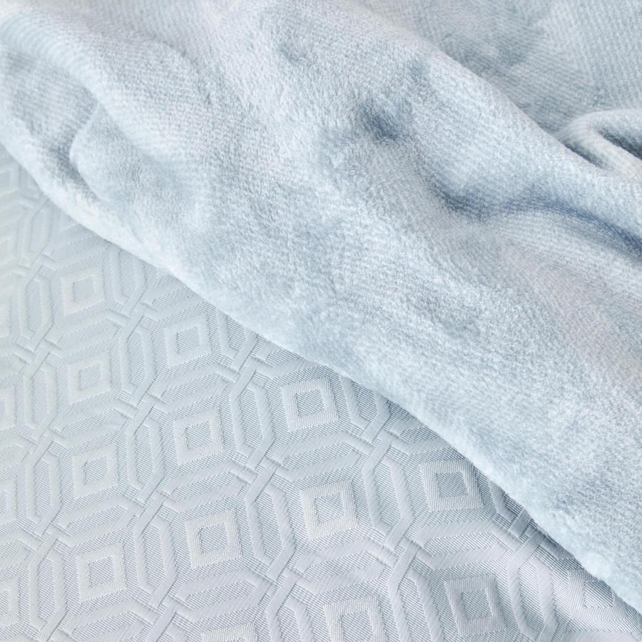 Karaca Home Infinity New Açık Mavi 8 Parça Winter Set