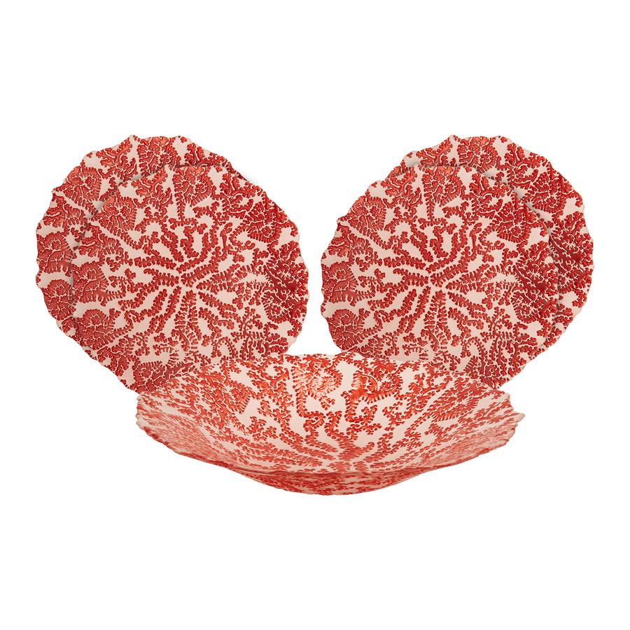 Karaca Home Coral 5 Parça Dekoratif Meyvelik Seti