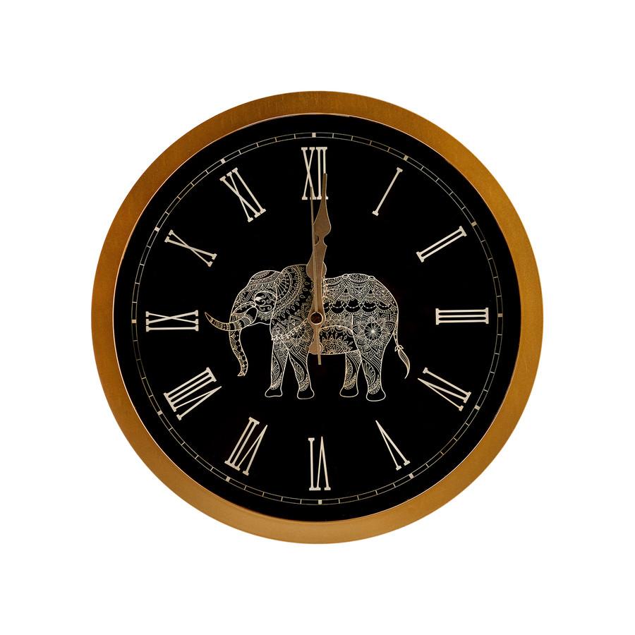 Karaca Home Etnik Çerçeveli Duvar Saati 35cm
