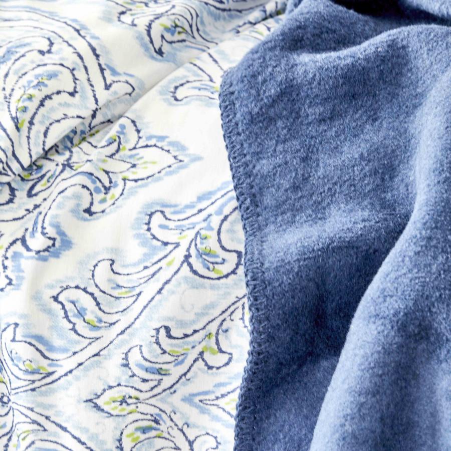 Karaca Home Care Turkuaz Çift Kişilik % 100 Pamuk Nevresim Takımı Pamuk Battaniye Set
