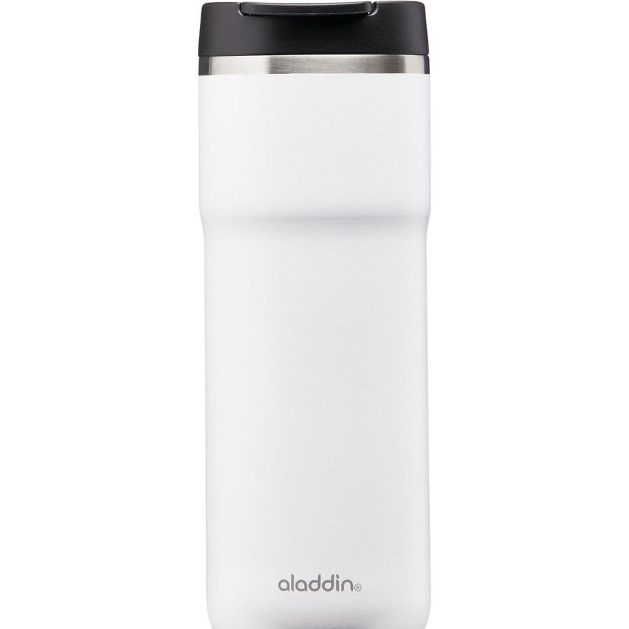 Aladdin Cafe Thermavac Leak-Lock Beyaz 0.47 lt Paslanmaz Çelik El Termosu Kupa
