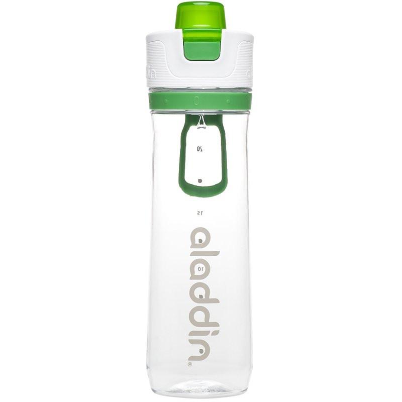 Aladdin Su Takipli 0.8 lt Yeşil Tek El Su Matarası