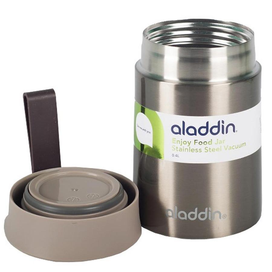 Aladdin Enjoy 0,40 Lt Füme Paslanmaz Çelik Yemek Termosu