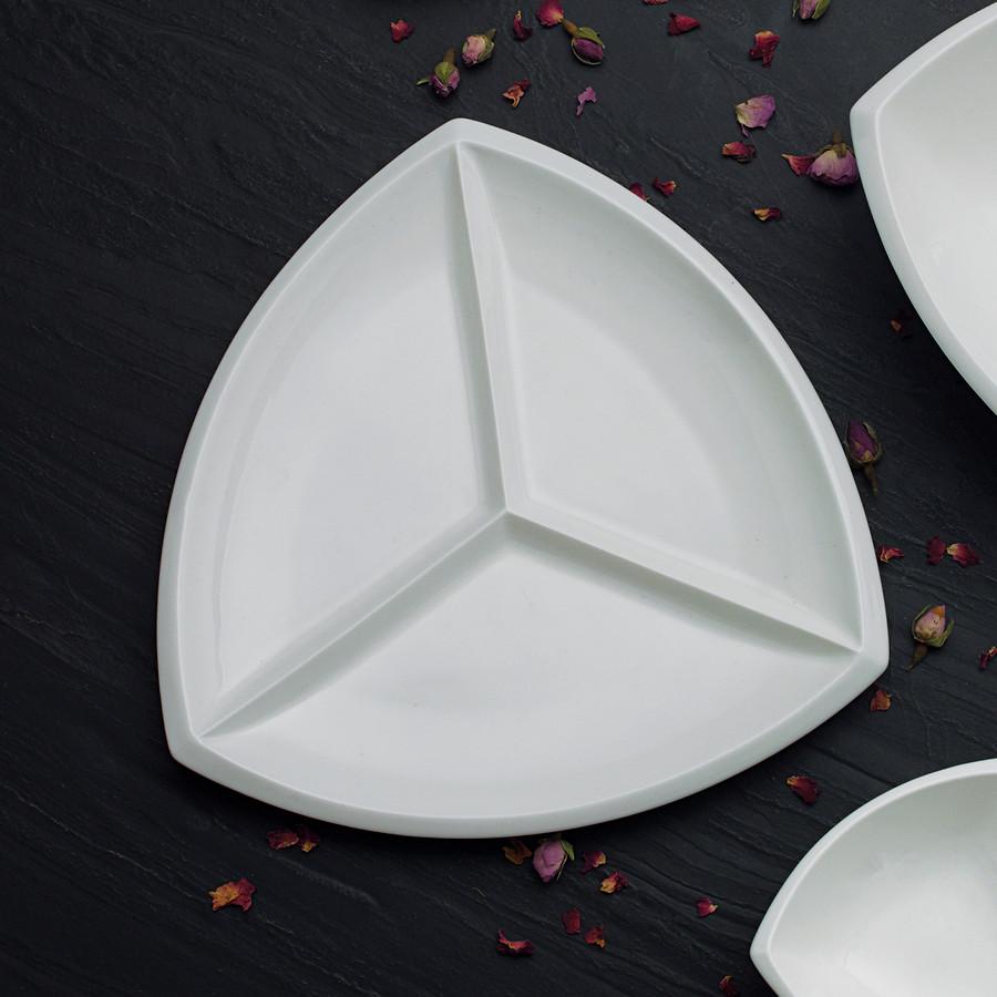 Emsan Antwerp Üç Bölmeli Kahvaltı Tabağı 27 cm