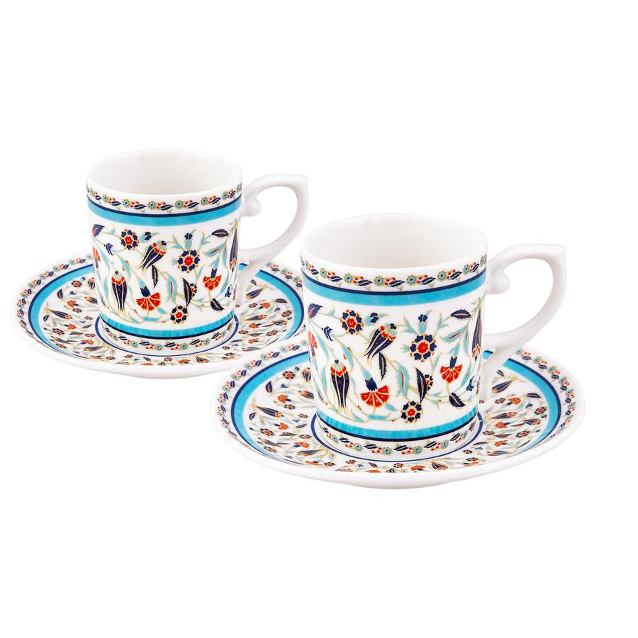 Emsan Tulipa 6 Kişilik Kahve Fincan Takımı