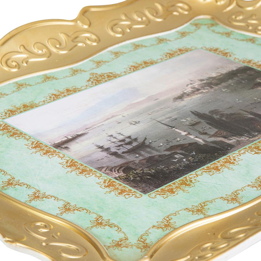 Emsan Nostalji Gold Tepsi 30x40 cm