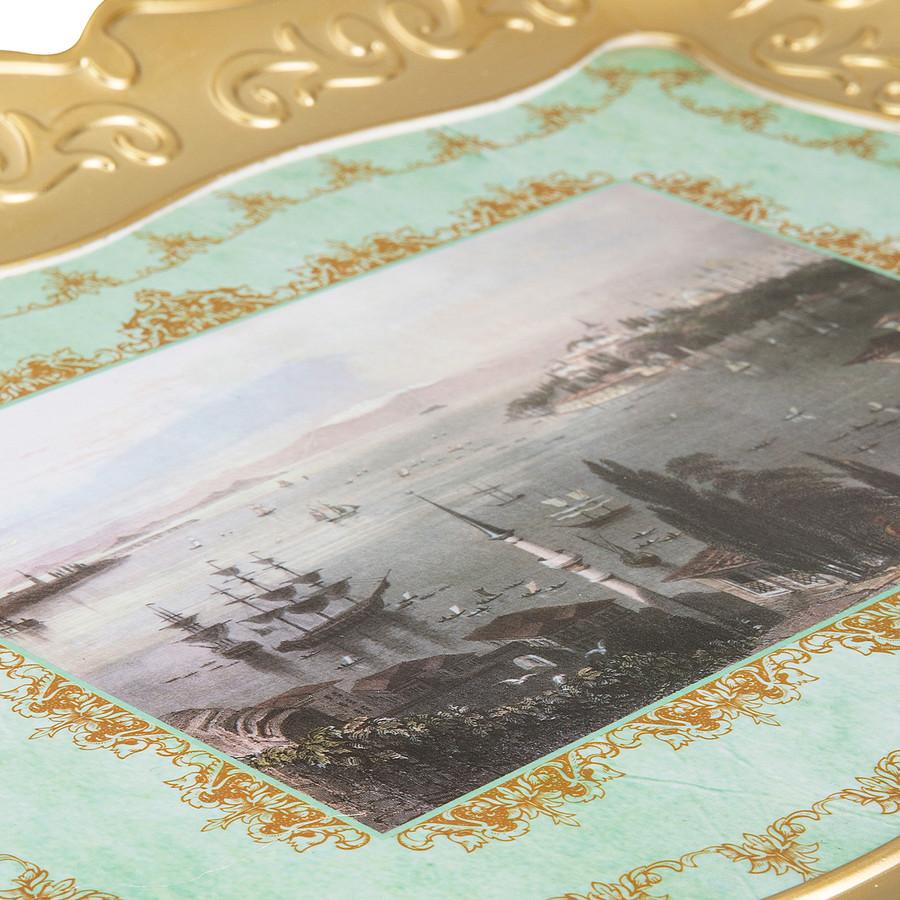 Emsan Nostalji Gold Tepsi 35x46