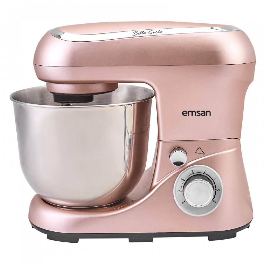 Emsan Bella Gusto Golden Pink Stand Mikser Mutfak Şefi 1300W 5 Lt