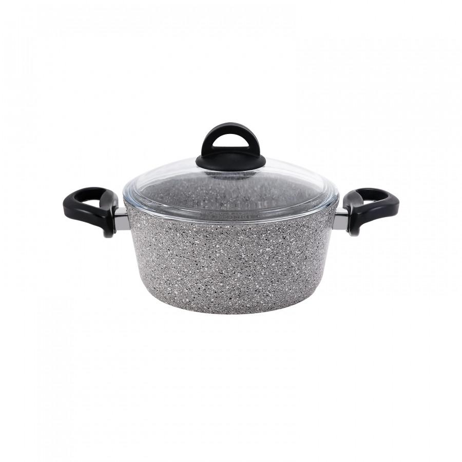 Emsan Premium Granit 7 Parça Tencere Seti Grey