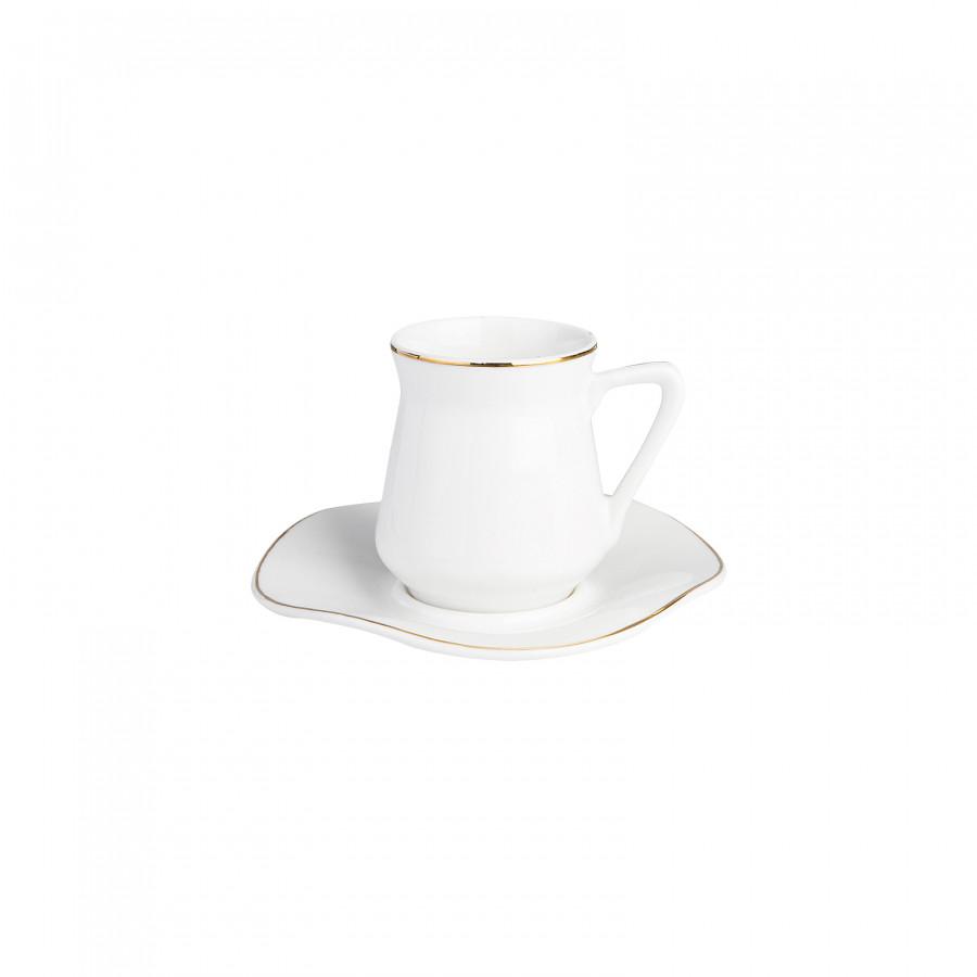 Emsan Güzelce 6 Kişilik Porselen Kahve Fincanı Takımı