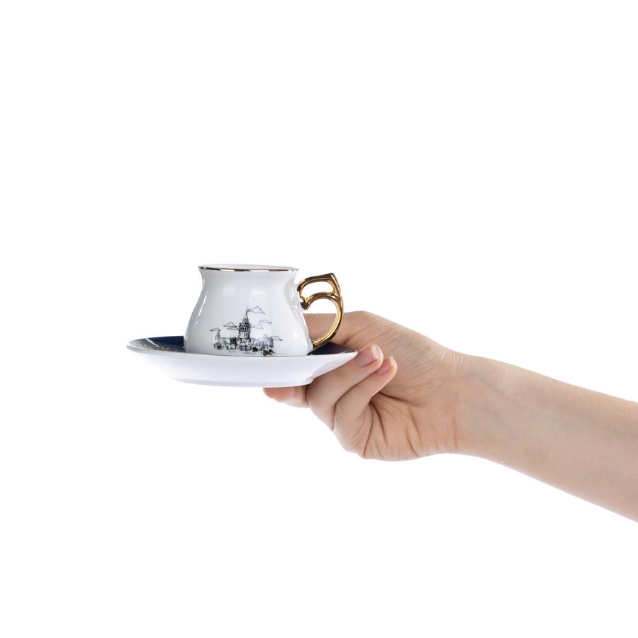 Emsan Yeditepe 6 Kişilik Kahve Fincanı Takımı