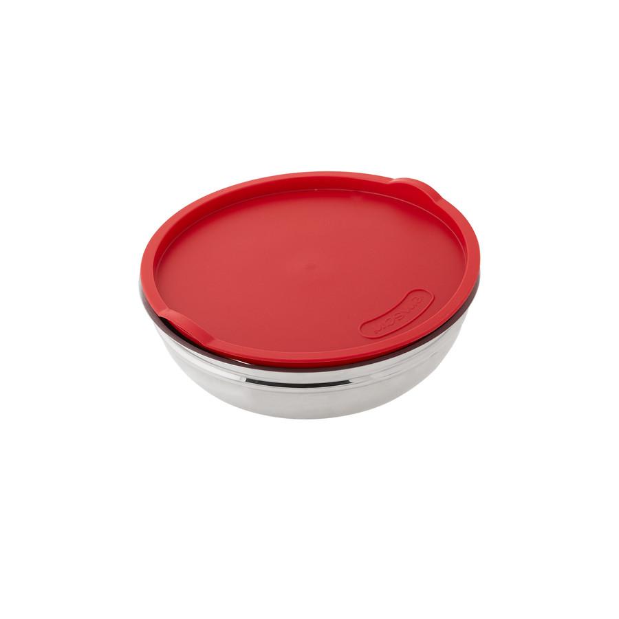 Emsan Demre 6 Parça Kombi Saklama Kabı Set Kırmızı
