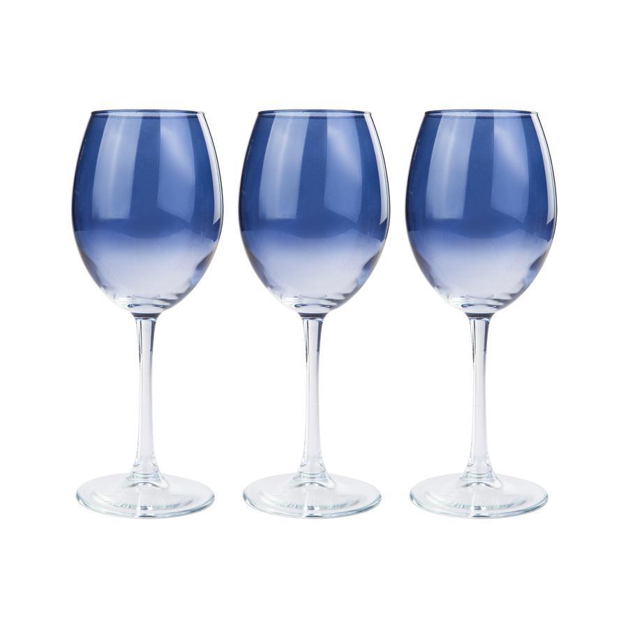 Emsan Firuze Mavi 3lü Ayaklı Bardak