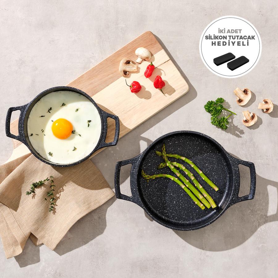 Emsan Chef 2'li Döküm Sahan Set