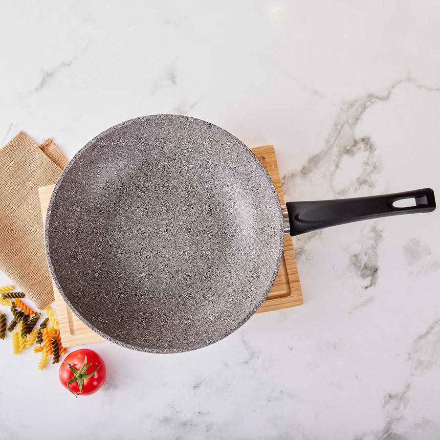 Emsan Durable Granit 28 Cm Wok Tava