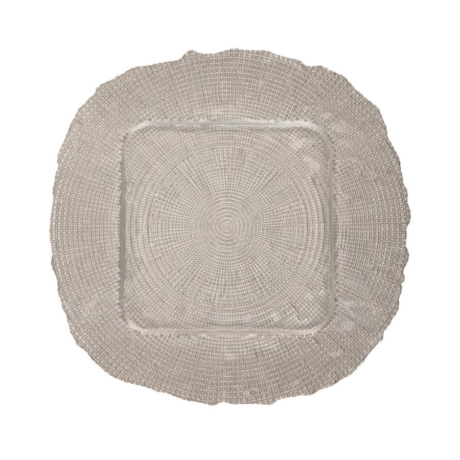 Emsan Gümüş Kare Supla 35 Cm