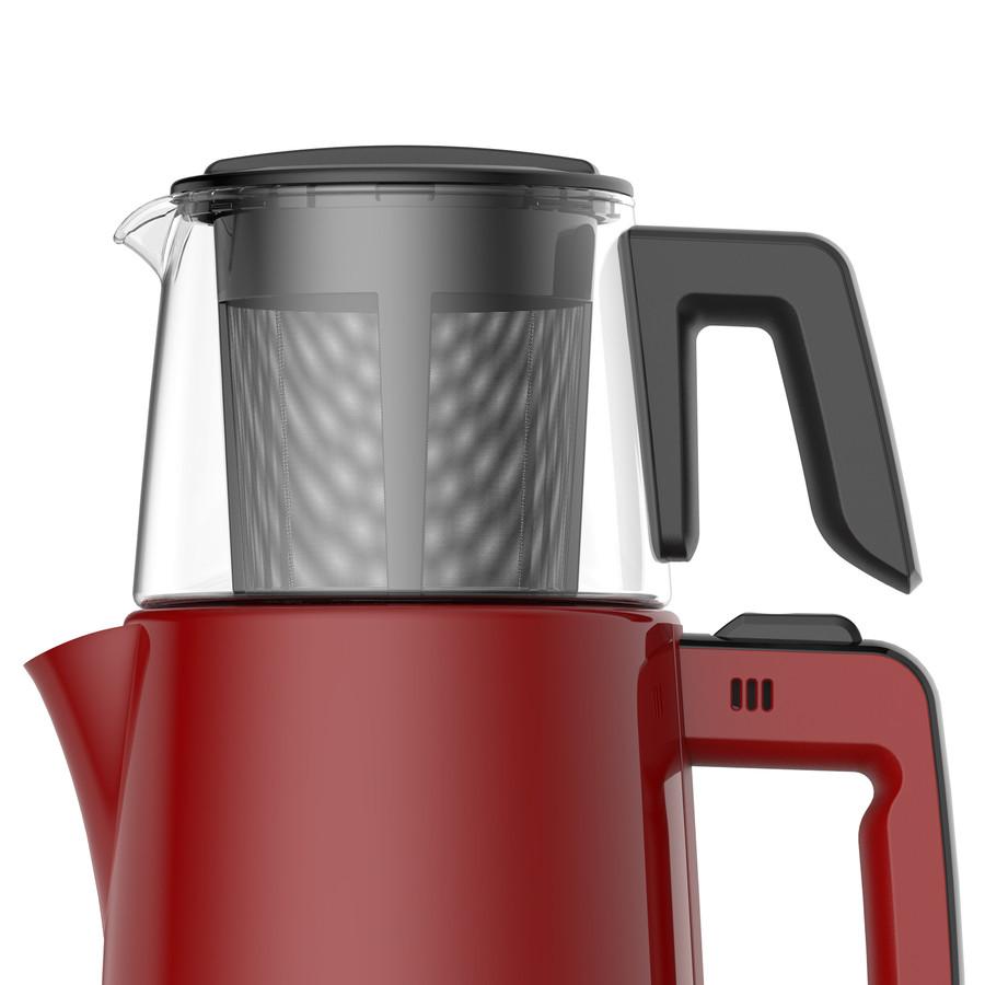 Emsan Handy Pro Kırmızı Çay Makinesi
