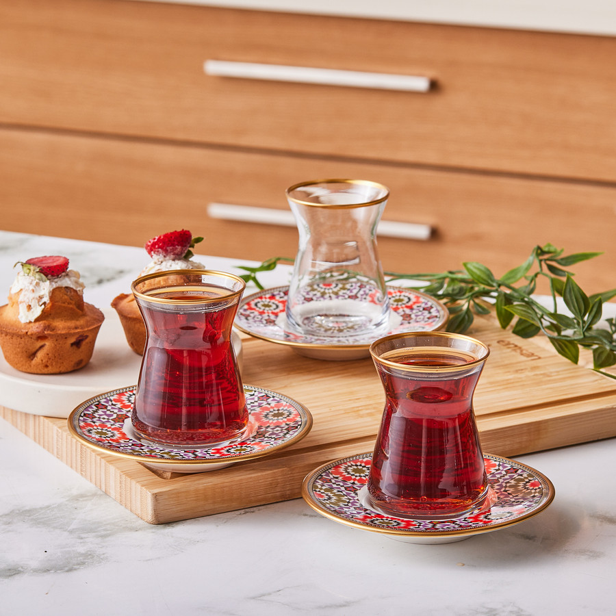 Emsan Ahenk 12 Parça Çay Seti