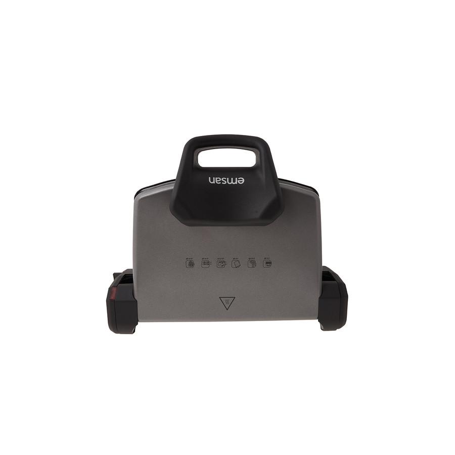 Emsan Power Master Granit 1800w Tost Makinesi Antrasit
