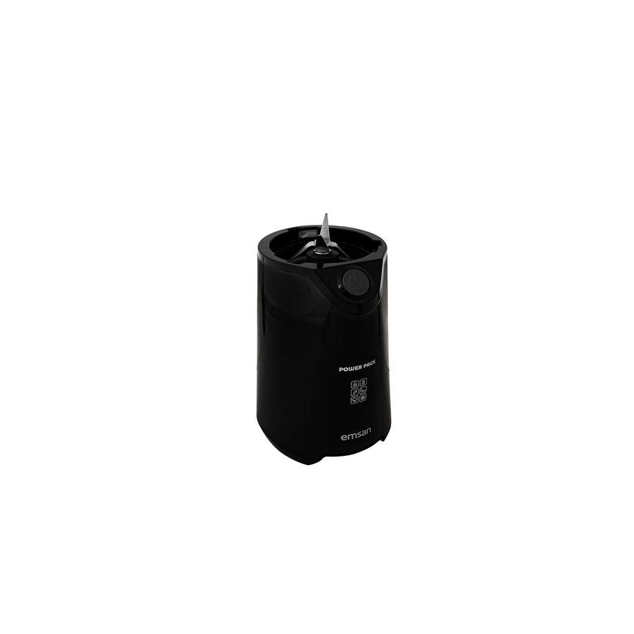Emsan Powerpack Smoothie 600w Antrasit Kişisel Blender Set