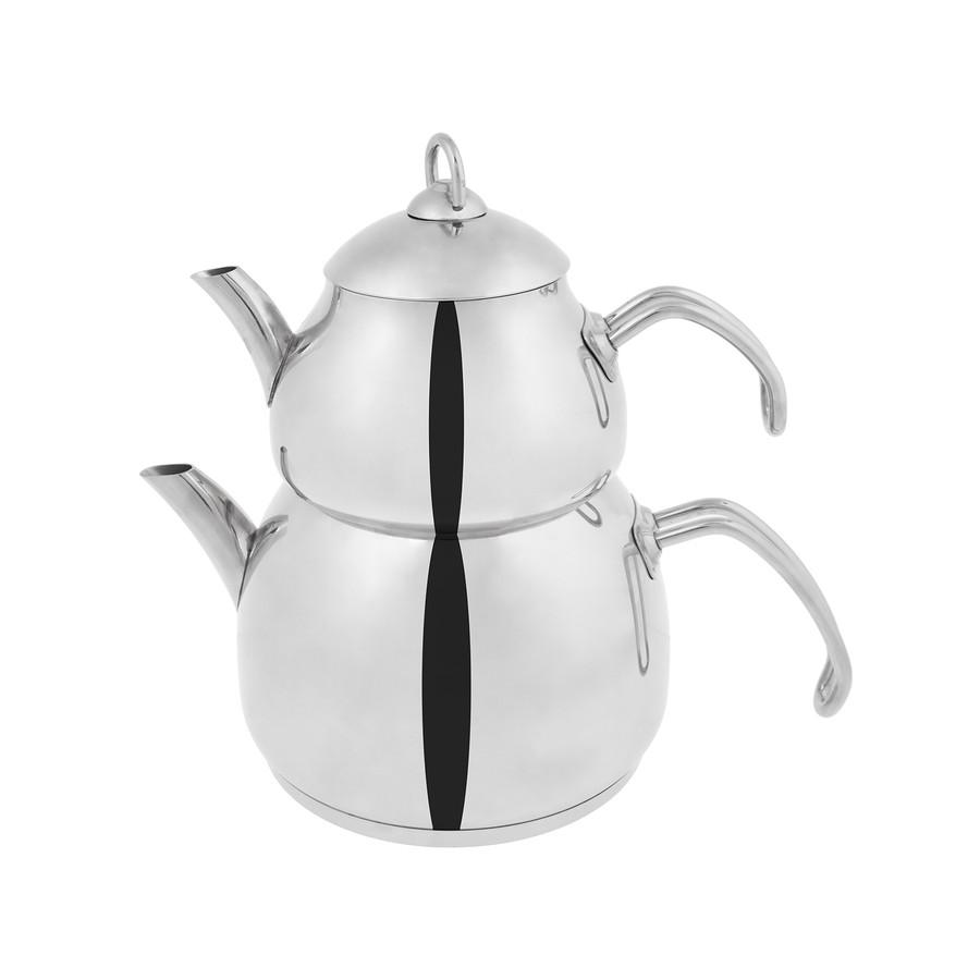 Emsan Helis Çelik Çaydanlık Takımı
