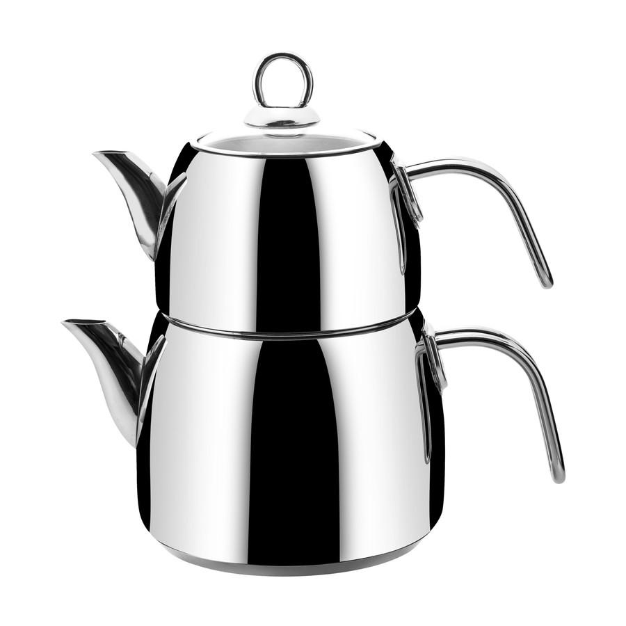Emsan Soft Maxi İndüksiyon Tabanlı Çaydanlık Takımı