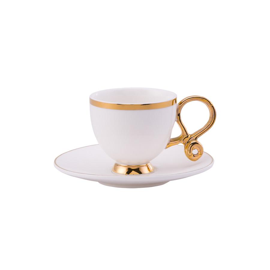 Karaca Ivy 6 Kişilik Kahve Fincan Takımı