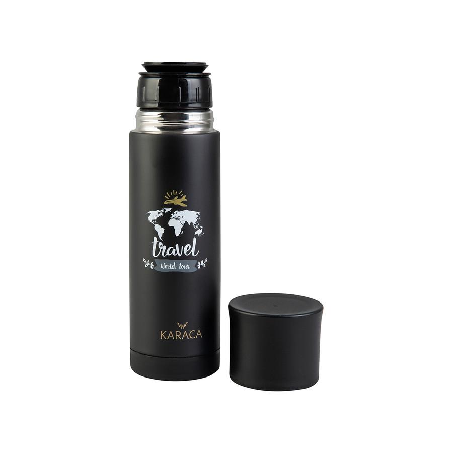 Karaca Travel Black 400 ml Termos