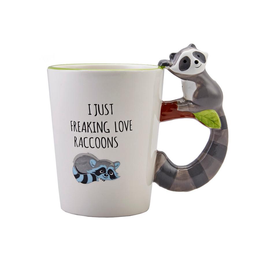 Karaca Animal Raccoon Mug Kupa