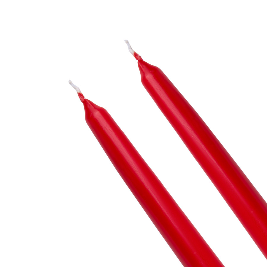 Karaca Andy 2li 24 cm Kırmızı Şamdan Mum