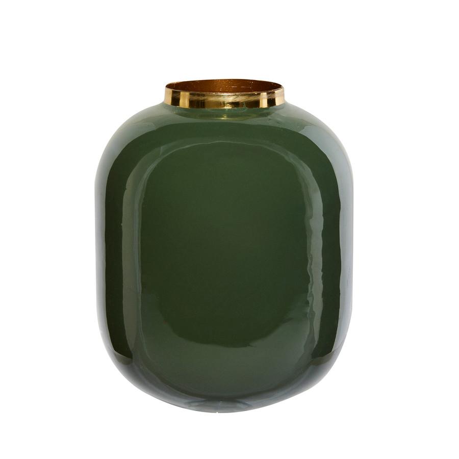 Karaca Glore Vazo 21,5x16,5cm Yeşil