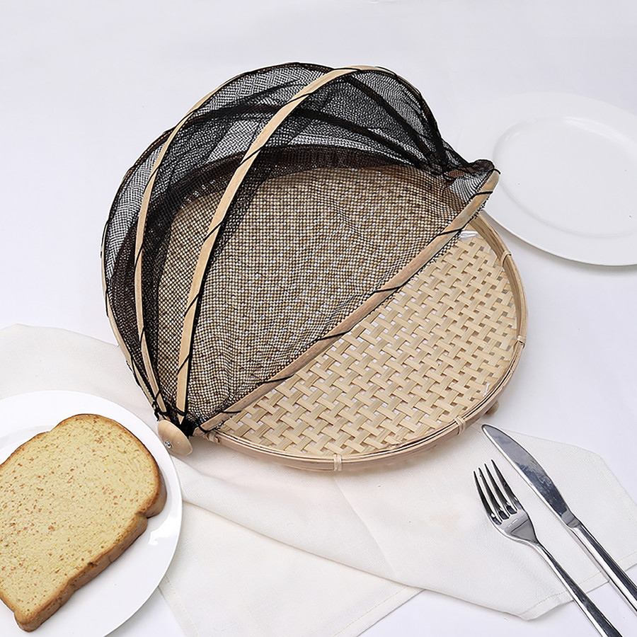 Karaca Sera Yiyecek Koruyucu 2'li Sepet Seti Kahve
