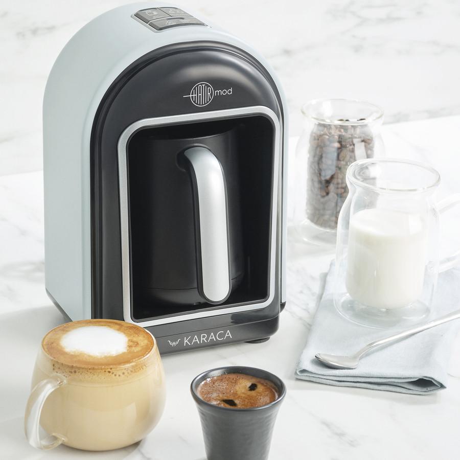 Karaca Hatır Mod Sütlü Türk Kahve Makinesi Gümüş