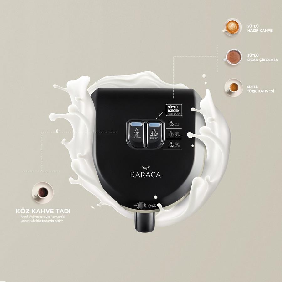 Karaca Hatır Hüps Sütlü Türk Kahve Makinesi Krem