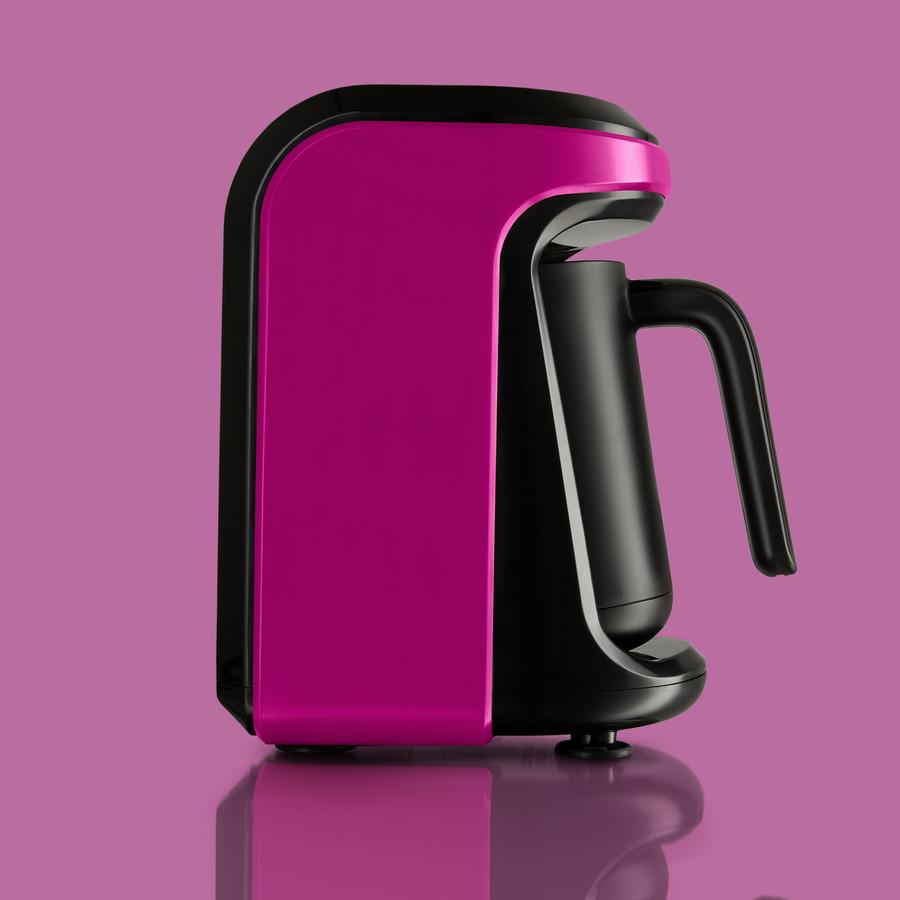 Karaca Hatır Hüps Sütlü Türk Kahve Makinesi Blush Pink