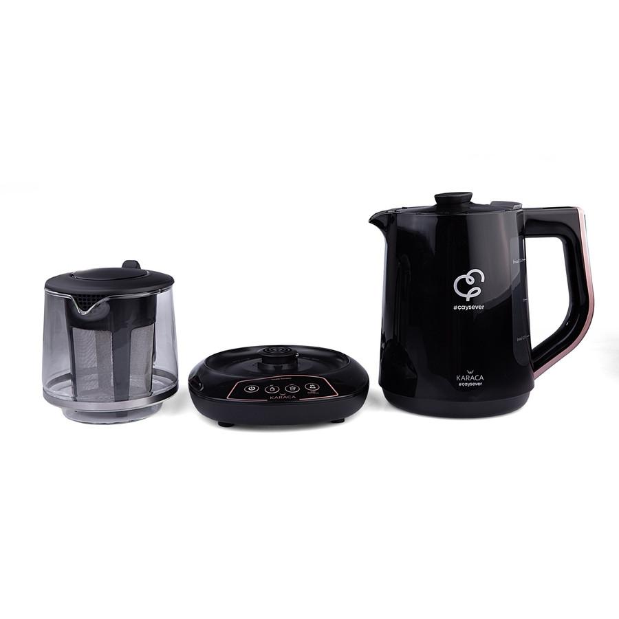Karaca Çaysever Konuşan Çay Makinesi Rosegold
