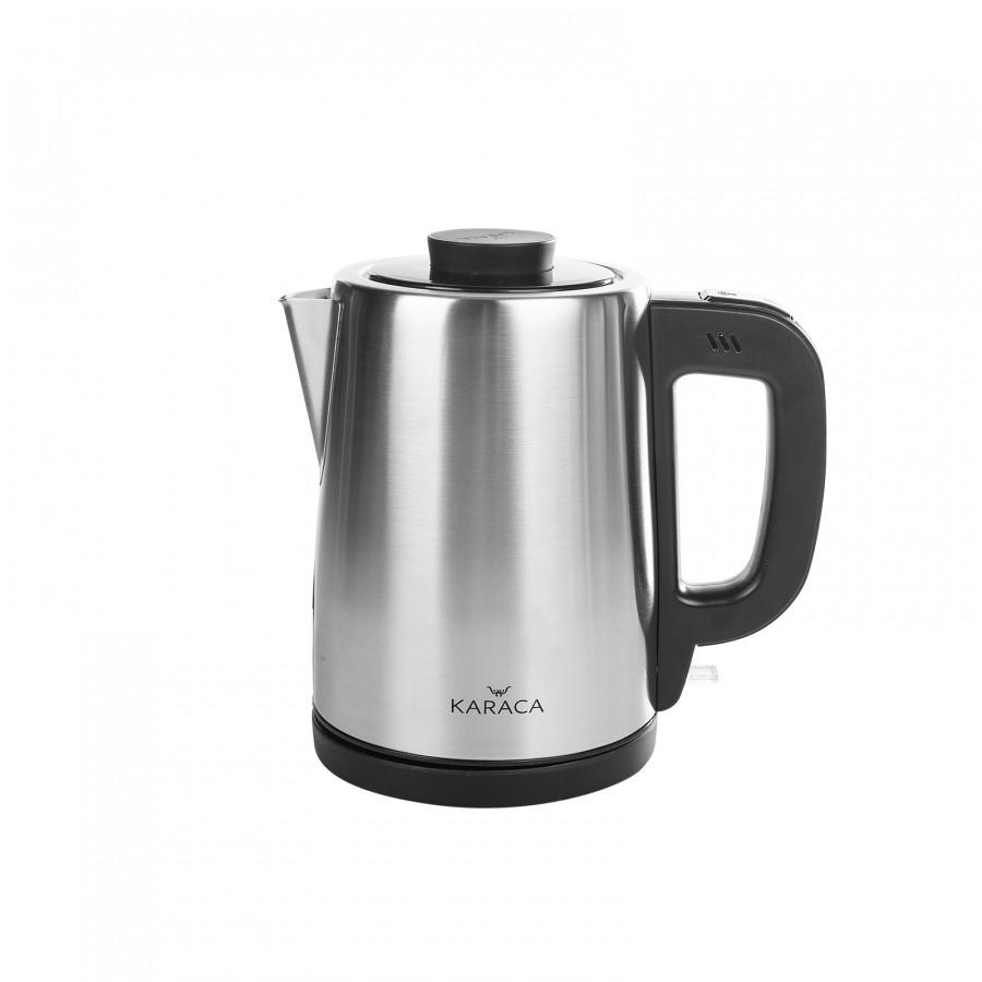 Karaca Tea Break Çay Makinesi İnox Siyah