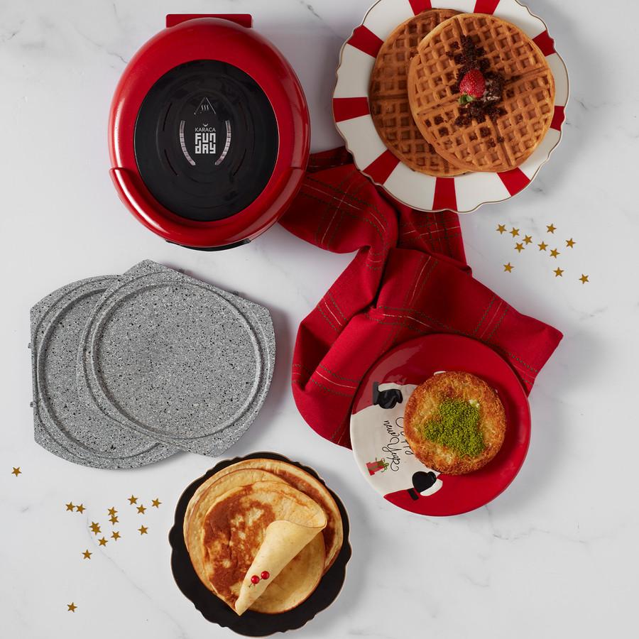 Karaca Funday Redgold Waffle Makinesi 1000W