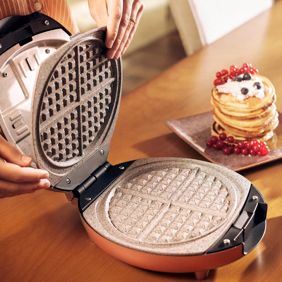 Karaca Funday Krem 3'ü 1 Arada Waffle Krep ve Künefe Makinesi 1000W