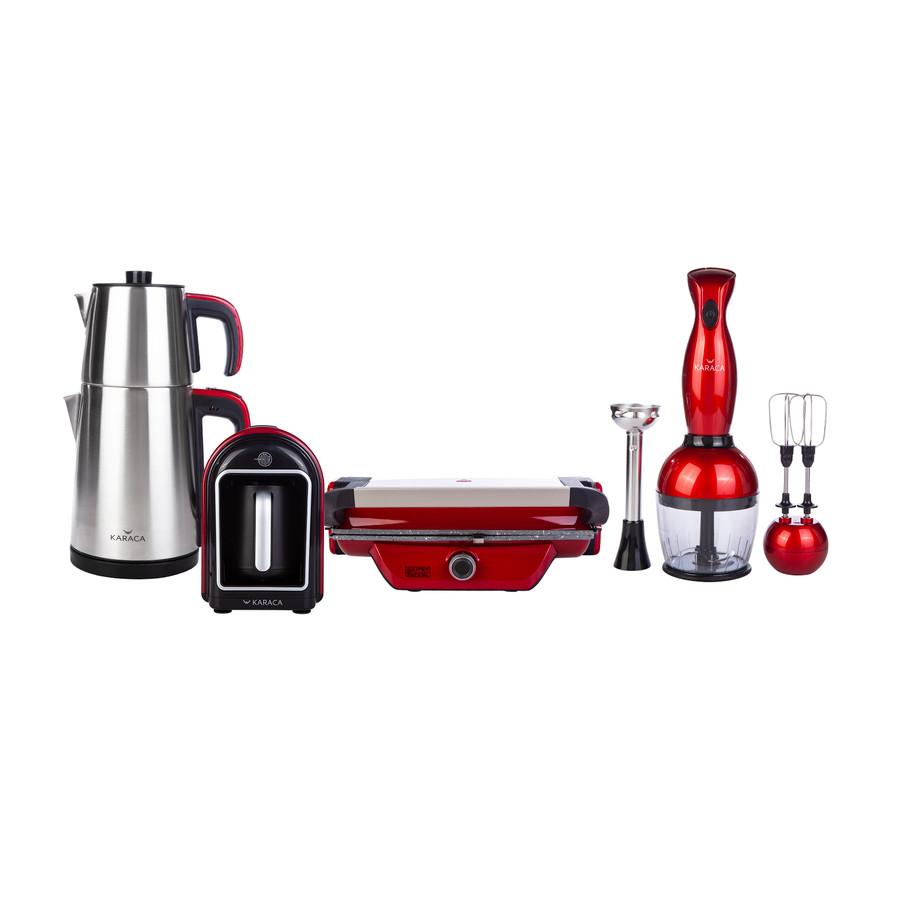 Karaca Gurme Plus Red Elektrikli Çeyiz Seti