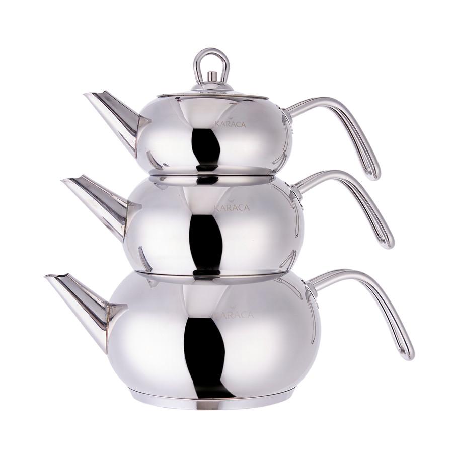 Karaca 3D Çaydanlık Seti