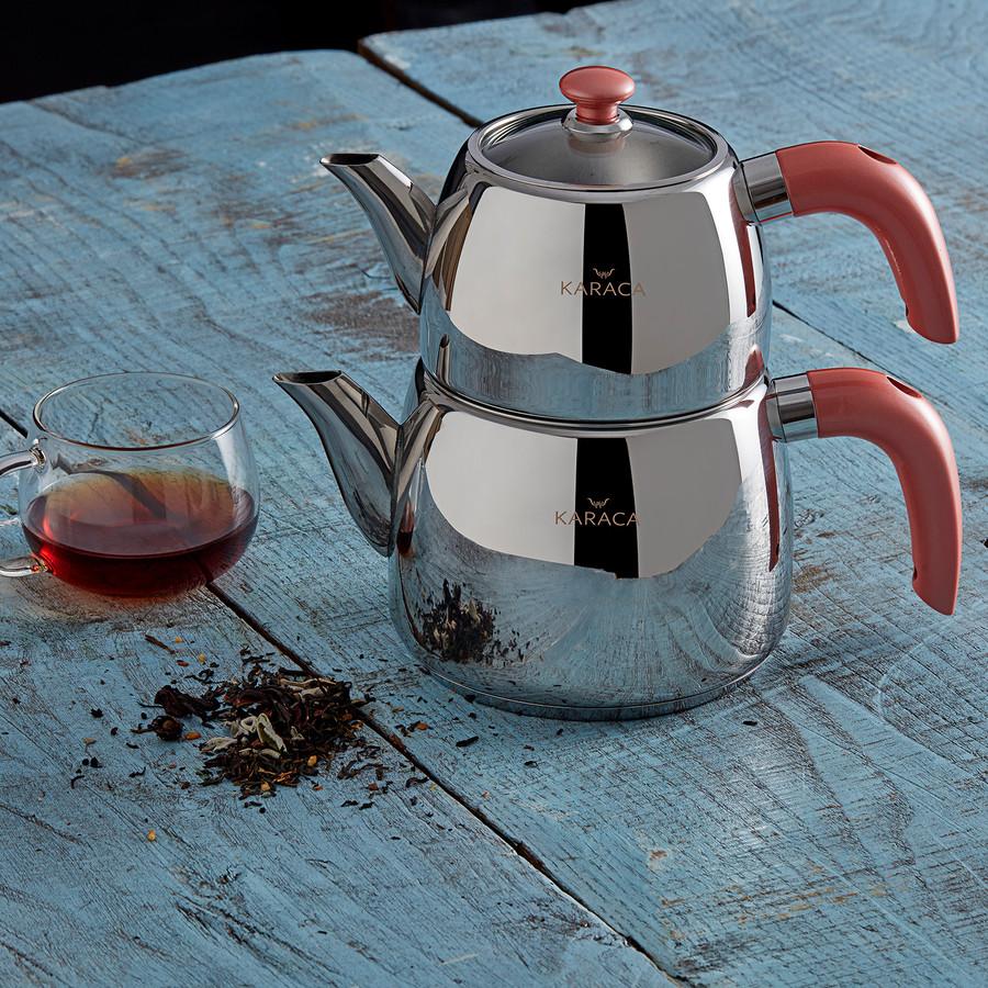 Karaca Galya Çaydanlık Takımı Somon