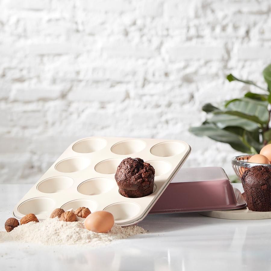 Karaca Berry 35 cm 12li Muffin Kek Kalıbı