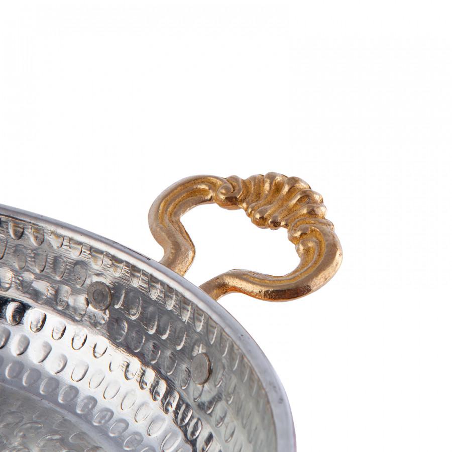 Karaca Antik Bakır Sahan 20 cm