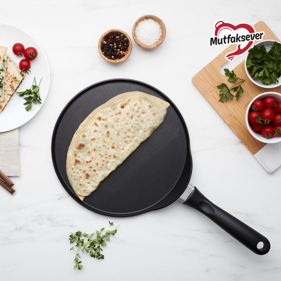Karaca Mutfaksever Black Gözleme ve Krep Tavası