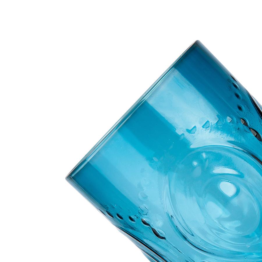 Karaca Camila Mavi Meşrubat Bardağı