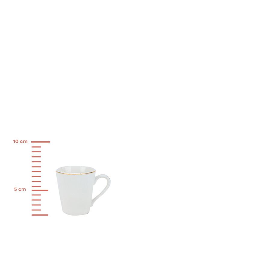 Karaca Eleta 6 Kişilik Kahve Fincan Takımı