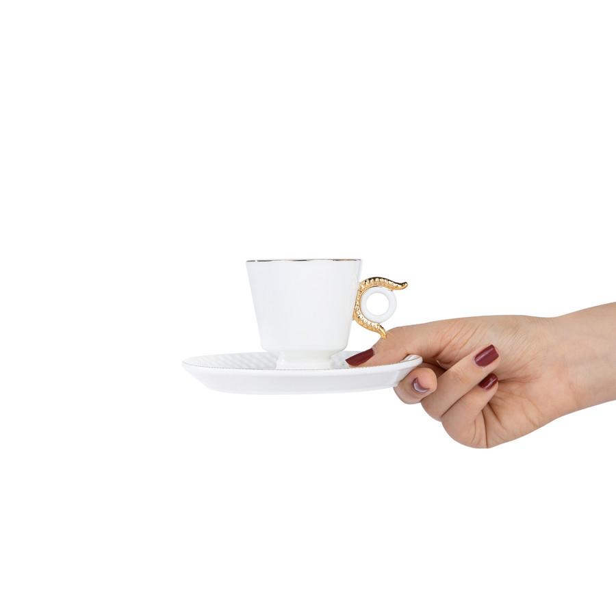Karaca Egypt 2 Kişilik Kahve Fincanı Takımı