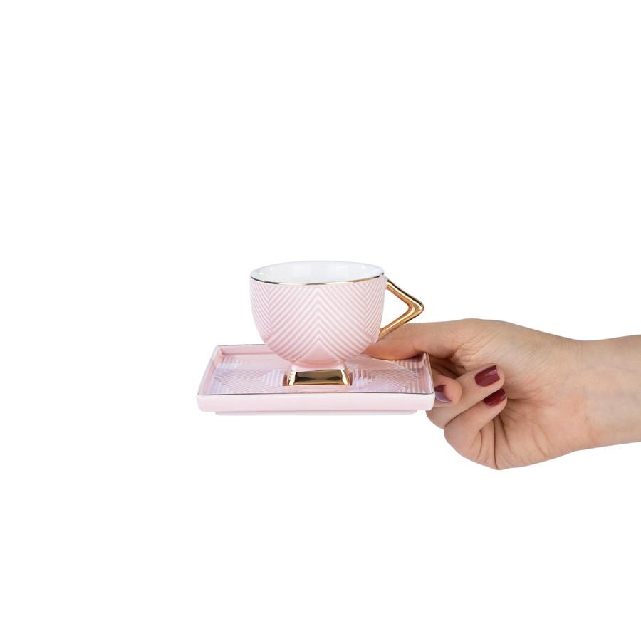 Karaca Art Deco 2 Kişilik Kahve Fincan Takımı